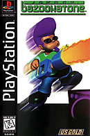 jaquette PlayStation 1 Johnny Bazookatone