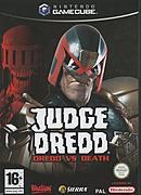 jaquette Gamecube Judge Dredd Dredd Vs Death