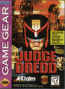 jaquette Game Gear Judge Dredd