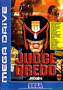 jaquette Megadrive Judge Dredd