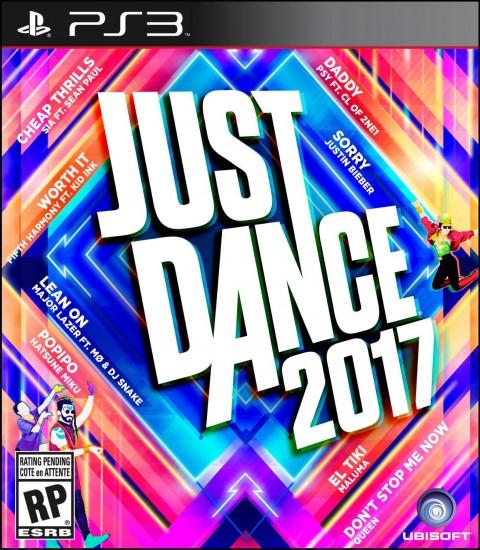 jaquette PlayStation 3 Just Dance 2017