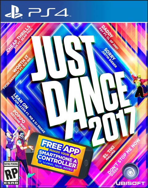 jaquette PlayStation 4 Just Dance 2017