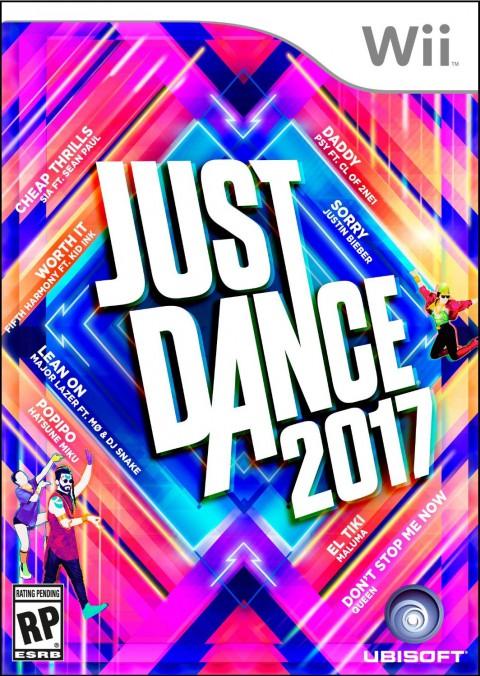 jaquette Wii Just Dance 2017