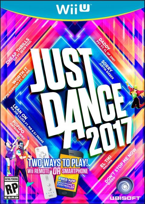 jaquette Wii U Just Dance 2017