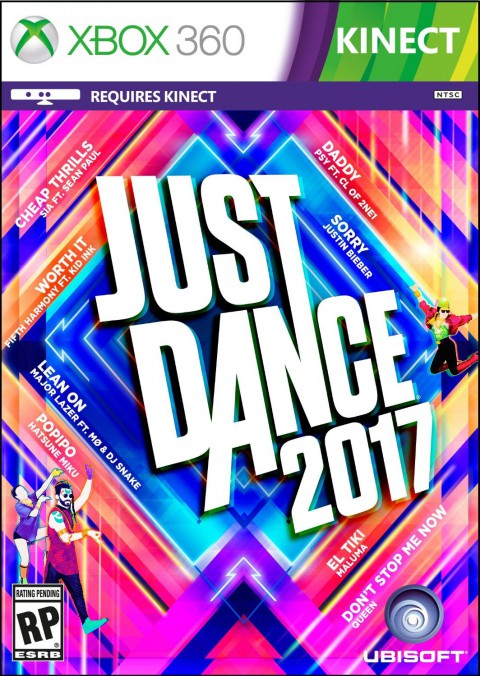 jaquette Xbox 360 Just Dance 2017