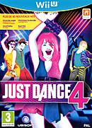jaquette Wii U Just Dance 4