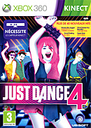 jaquette Xbox 360 Just Dance 4