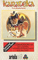 jaquette Commodore 64 Karateka