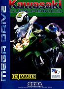jaquette Megadrive Kawasaki Superbikes