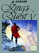 jaquette Nes King s Quest V Absence Makes The Heart Go Yonder