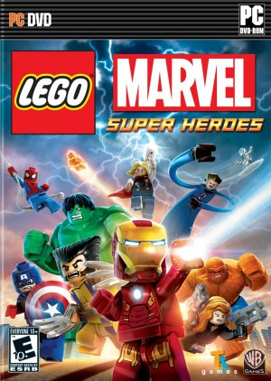 jaquette PC LEGO Marvel Super Heroes L Univers En Peril