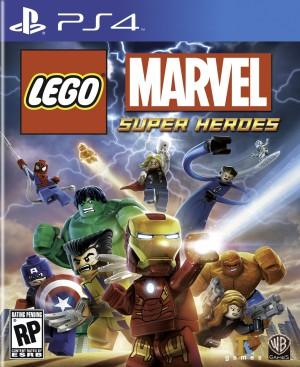 jaquette PlayStation 4 LEGO Marvel Super Heroes L Univers En Peril