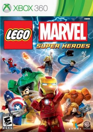 jaquette Xbox 360 LEGO Marvel Super Heroes L Univers En Peril