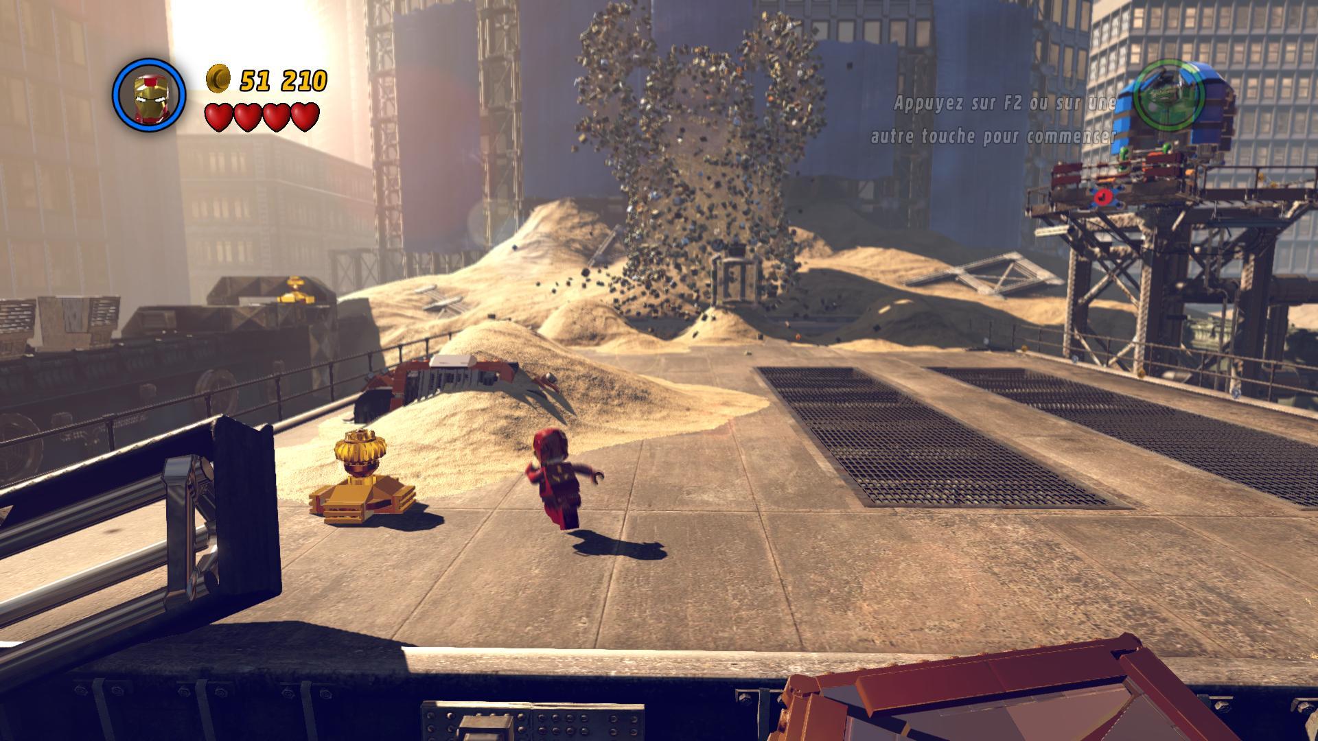 Screenshots capture d 39 ecran pour lego marvel super heroes for Screenshot ecran