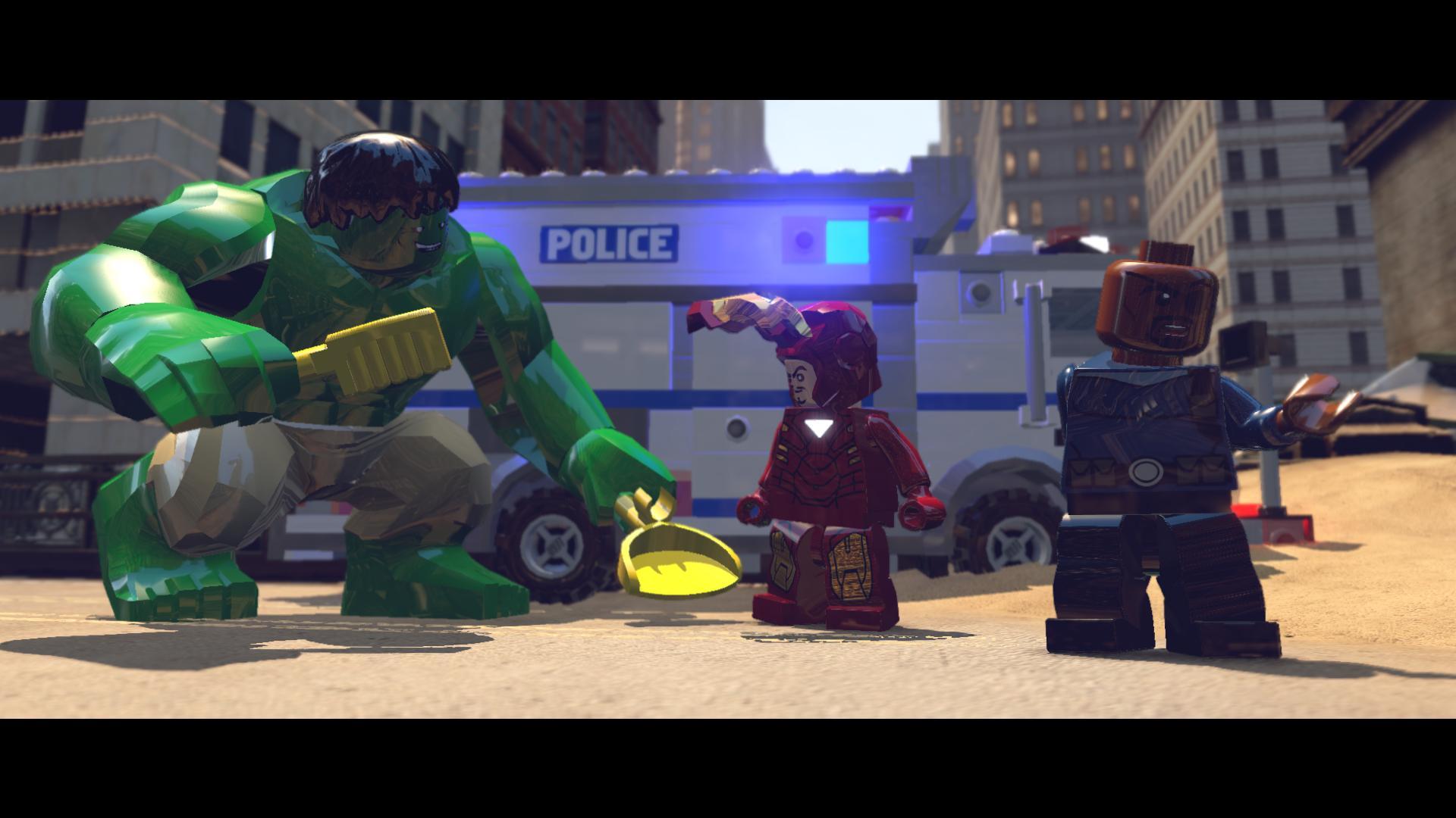 Voir tous les wallpapers de LEGO Marvel Super Heroes