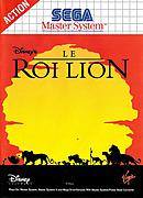 jaquette Master System Le Roi Lion