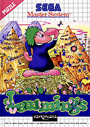 jaquette Master System Lemmings