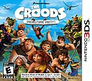 jaquette Nintendo 3DS Les Croods Fete Prehistorique
