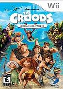 jaquette Wii Les Croods Fete Prehistorique