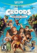 jaquette Wii U Les Croods Fete Prehistorique