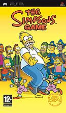 jaquette PSP Les Simpson Le Jeu
