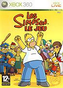 jaquette Xbox 360 Les Simpson Le Jeu