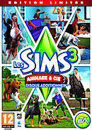 jaquette Mac Les Sims 3 Animaux Cie