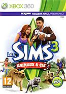 jaquette Xbox 360 Les Sims 3 Animaux Cie