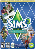 jaquette Mac Les Sims 3 Hidden Springs