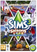 jaquette Mac Les Sims 3 Saisons
