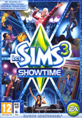 jaquette Mac Les Sims 3 Showtime