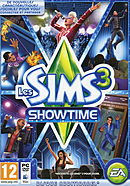 jaquette PC Les Sims 3 Showtime
