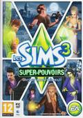jaquette Mac Les Sims 3 Super pouvoirs