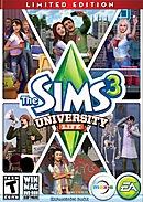 jaquette Mac Les Sims 3 University
