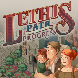 jaquette PC Lethis Path Of Progress