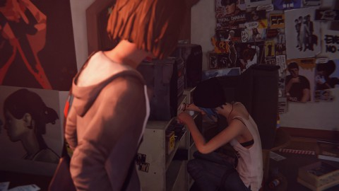 jaquette PC Life Is Strange Episode 4 Dark Room
