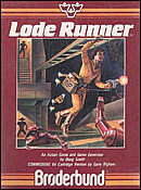 jaquette Commodore 64 Lode Runner