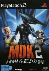 jaquette PlayStation 2 MDK 2
