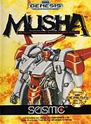 jaquette Megadrive MUSHA Metallic Uniframe Super Hybrid Armor