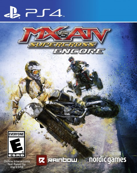 jaquette PlayStation 4 MX Vs ATV Supercross Encore Edition