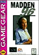 jaquette Game Gear Madden NFL 96