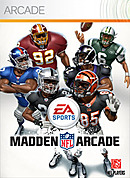 jaquette Xbox 360 Madden NFL Arcade