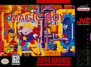 jaquette Super Nintendo Magic Boy