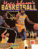 jaquette Amiga Magic Johnson s Basketball