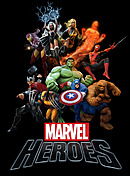 jaquette PlayStation 3 Marvel Heroes