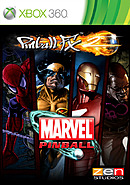 jaquette Xbox 360 Marvel Pinball