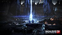 wallpaper ending scene mass effect 3