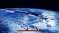 wallpaper normandy mass effect 0