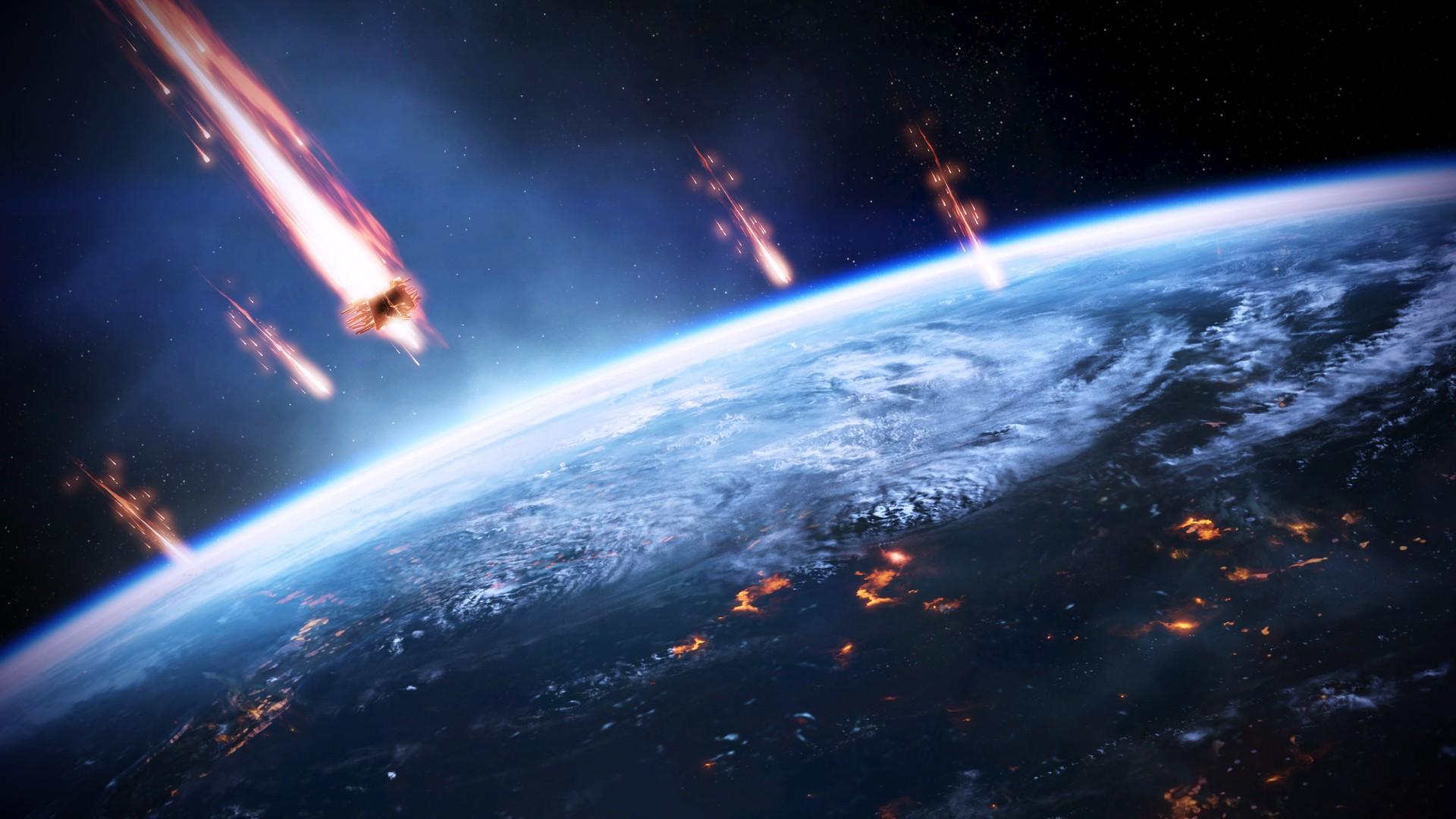 Mass Effect Reapers Wallpaper