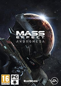 jaquette PC Mass Effect Andromeda